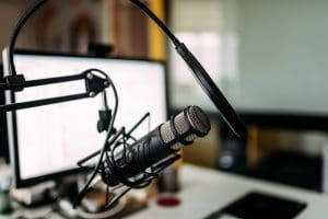 USB Podcast microfoon