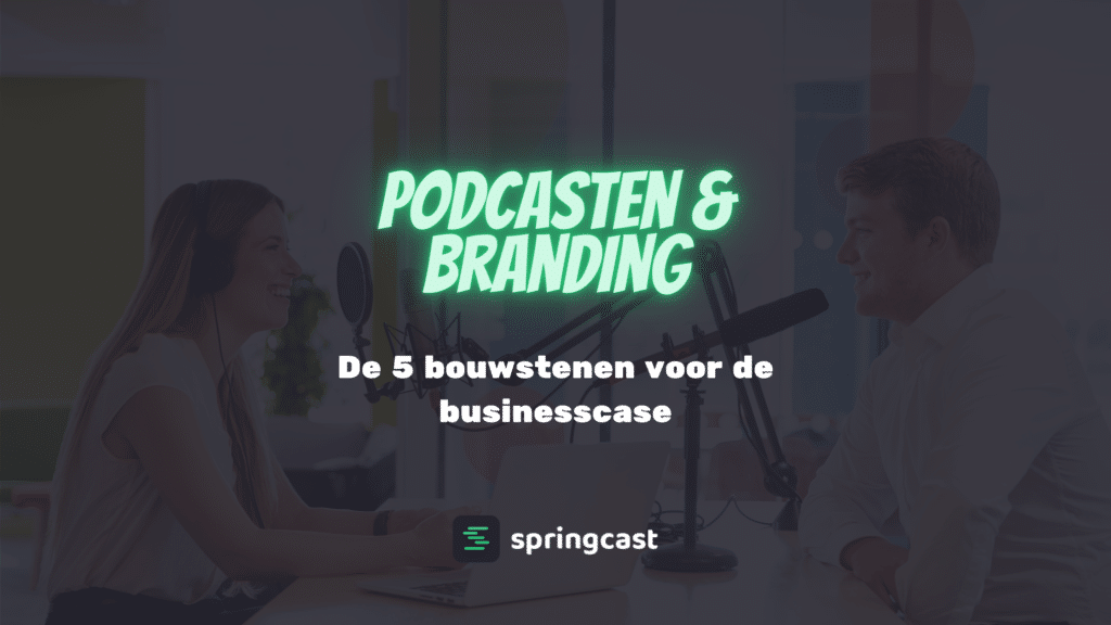Podcasten & branding